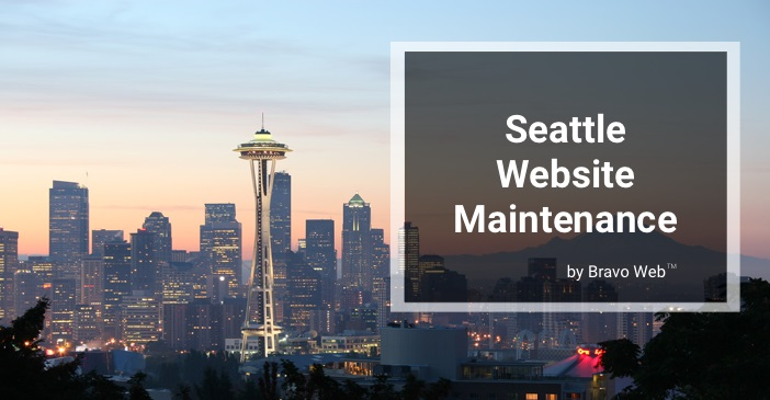 seattle website maintenance by bravo web