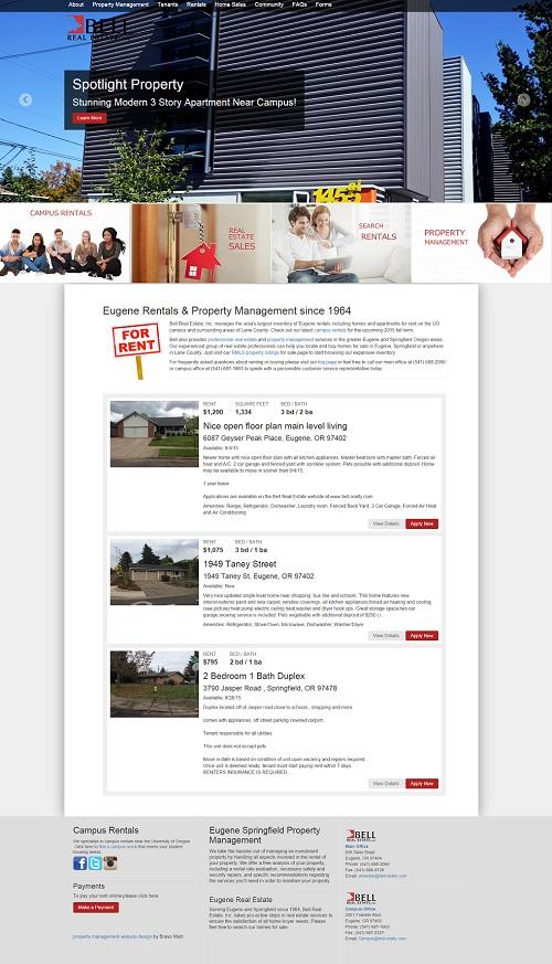 Property Management Website Design Templates, Maintenance